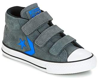 Converse STAR PLAYER EV V STAR PLAYER SUEDE MID THUNDER/BLACK/ITALY BLUE