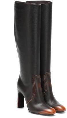 9010ba5f8208f Bottega Veneta Leather knee-high boots