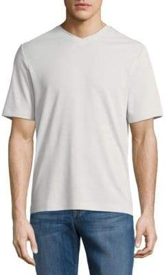 Saks Fifth Avenue V-Neck Tee