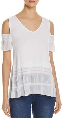 Lysse Lacey Cold-Shoulder Top