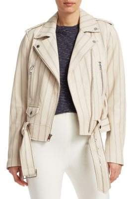 Derek Lam Leather Moto Jacket