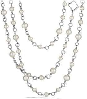 David Yurman Chain Necklace with Pearls