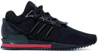 Y-3 Black and red Harigane sneakers