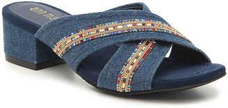 Ann Marino Zip Me Up Sandal - Women's