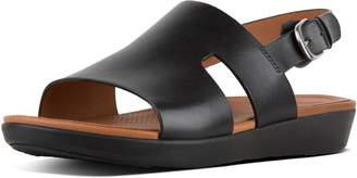 FitFlop H-Bar Leather Back-Strap Sandals