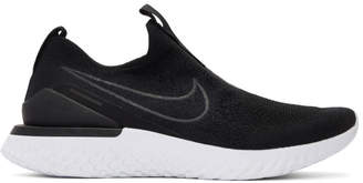 Nike Black Epic Phantom React FK Sneakers