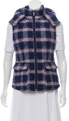 Lucien Pellat-Finet Patterned Puffer Vest