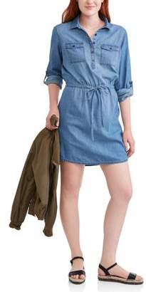 Highway Jeans Juniors' Denim Shirt Dress