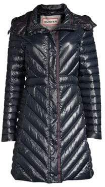 Hunter Gloss Down Puffer Coat