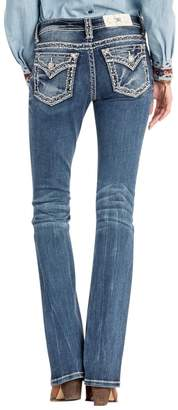 Miss Me Mountain Spirit Embroidered Jeans