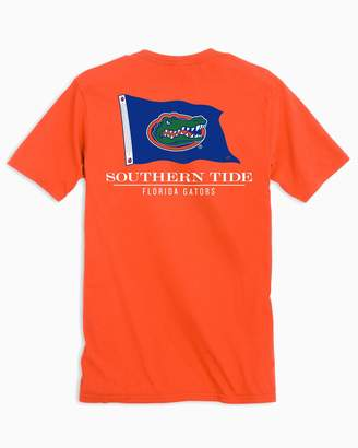 Southern Tide Gameday Nautical Flags T-shirt - University of Florida