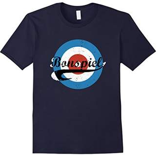 Bonspiel Curling Rink Retro Distressed T-Shirt