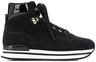 Hogan platform hi-top sneakers
