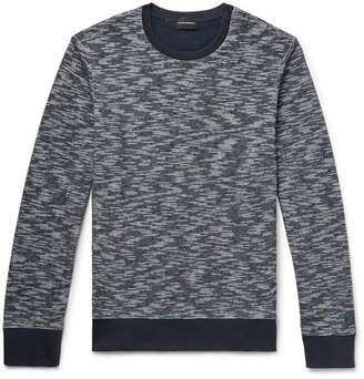 Club Monaco Slim-Fit Space-Dyed Cotton Sweatshirt