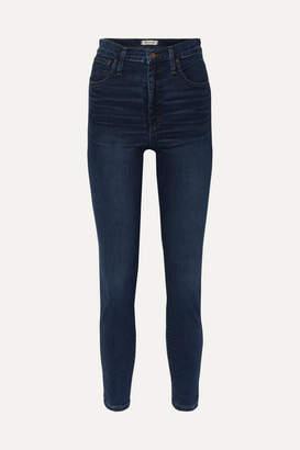Madewell High-rise Skinny Jeans - Dark denim