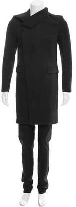 Christian Dior 2009 Asymmetrical Wool Coat