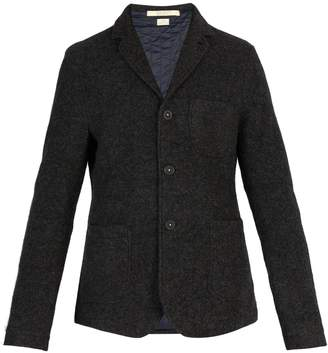 Massimo Alba Quilted-lining yak-wool jacket
