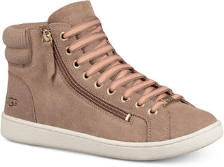 UGG Women's Olive Lace-Up Sneakers