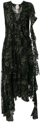 Cavallini Erika floral-lace dress