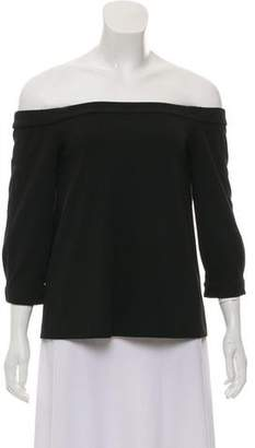 Tibi Off-The-Shoulder Crop Top w/ Tags