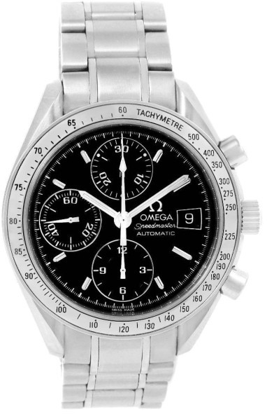 OmegaOmega Speedmaster 3513.50.00 Stainless Steel & Black Dial 39mm Mens Watch