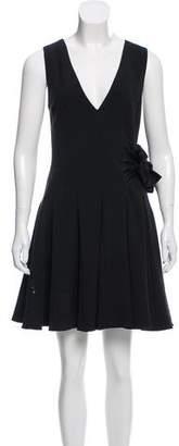 Thakoon Pleated Woven Dress