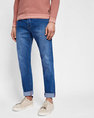 2d00e0b01175 Ted Baker DYNO Light wash straight fit jeans