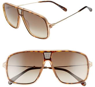 Givenchy 61mm Navigator Sunglasses