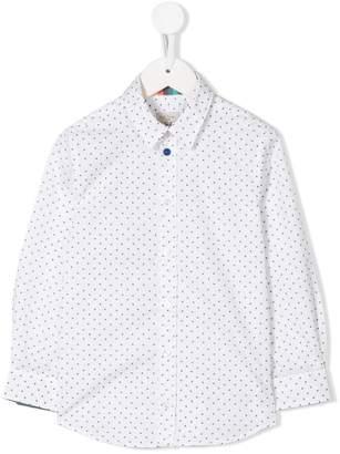 Paul Smith (ポール スミス) - Paul Smith Junior airplane-print shirt