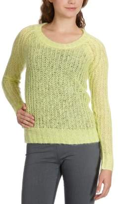 Designers Remix Women's Crew Neck Long - regular Blouse - - (Brand size: 36)