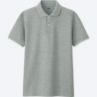 Uniqlo MEN Dry Pique Short Sleeve Polo Shirt