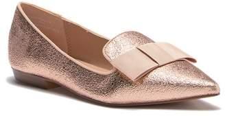 Kensie Mackenzy Metallic Bow Tie Flat