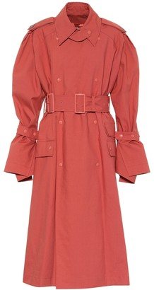 Acne Studios Cotton trench coat