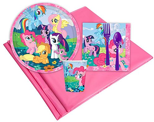 My Little Pony Party Dinnerware Set