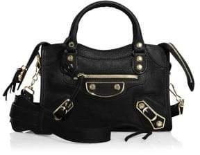 Balenciaga Mini City Metallic Edge Crossbody Bag