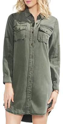 Vince Camuto High/Low Shirt Dress