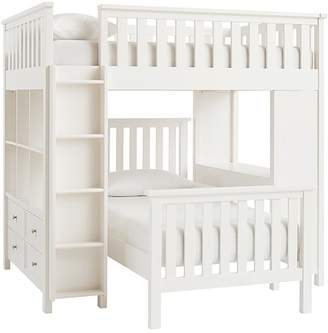 Pottery Barn Kids Full Loft Bed & Twin Bed Set