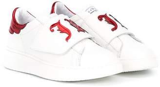 John Richmond Junior touch strap sneakers