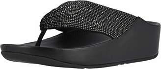 FitFlop Women's Twiss Crystal Toe-Post Sandal