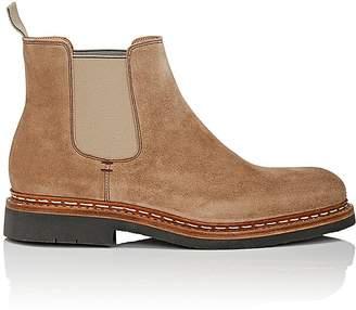 Heschung Men's Tremble Suede Chelsea Boots