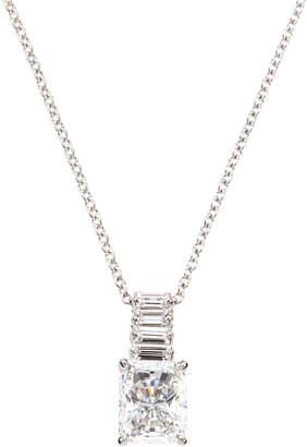 FANTASIA Emerald-Cut CZ Pendant Necklace