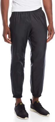 adidas Black Drawstring Nylon Joggers