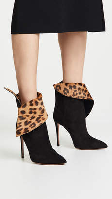 Aquazzura Night Fever 105mm Booties