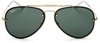 Ray-Ban Unisex Blaze Aviator Sunglasses, 61mm