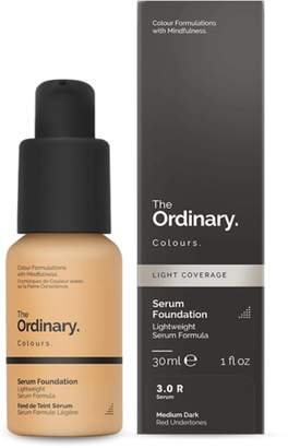 The Ordinary NEW Serum Foundation (3.0 R) 30ml Womens Makeup
