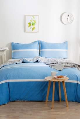California Design Den by NMK Azure Coast King Sized 3-Piece Comforter Set - Blue