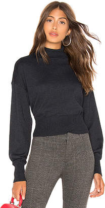 Line & Dot Carly Balloon Sleeve Sweater