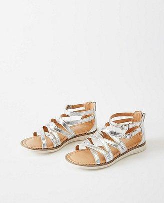 Hanna Girls Vera Gladiator Sandals $45 thestylecure.com