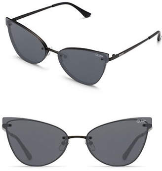 Quay Lady Luck Frameless Cat Eye Sunglasses