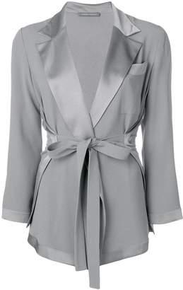 Alberta Ferretti tie waist jacket